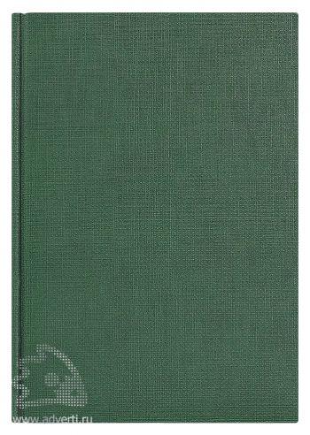 Ежедневники «City Flax», зеленые