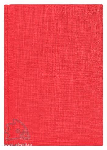 Ежедневники «City Flax», красные