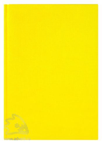 Ежедневники «City Flax», желтые