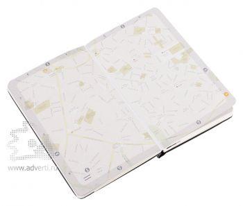 Записная книжка «City Milano» (Милан), Pocket, карта города