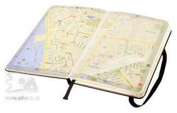 Записная книжка «City New York» (Нью-Йорк), Pocket, карта города