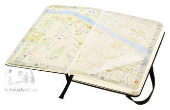Записная книжка «City Paris» (Париж), Pocket, карта города