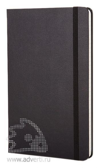 Записная книжка «Classic», черная, без обложки