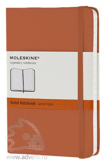 Записная книжка «Classic», светло-коричневая