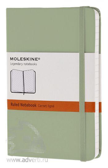 Записная книжка «Classic», светло-зеленая