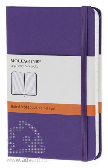 Записная книжка «Classic», фиолетовая
