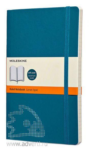 Записная книжка «Classic Soft», бирюзовая