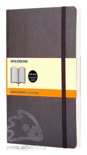 Записная книжка «Classic Soft», черная