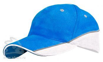 Бейсболка Leela «Combo Heavy», синяя с белым