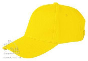 Бейсболка Leela «Heavy», жёлтая