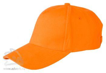 Бейсболка Leela «Heavy», оранжевая