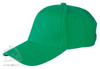 Бейсболка Leela «Heavy», зеленая