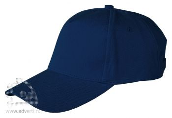 Бейсболка Leela «Heavy», темно-синяя