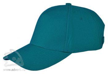 Бейсболка Leela «Heavy», темно-зеленая