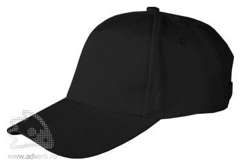 Бейсболка Leela «Heavy», черная