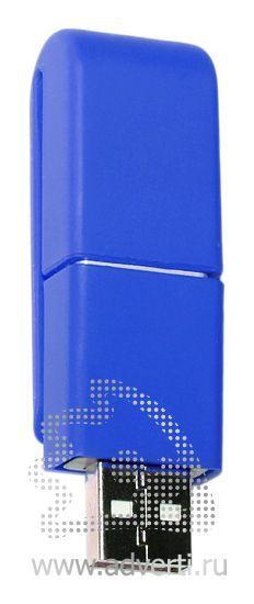USB флэшки «Clip-clap», синяя