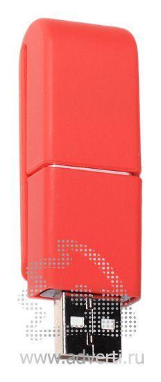 USB флэшки «Clip-clap», красная
