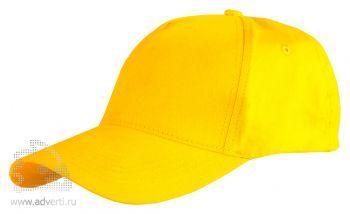 Бейсболка Leela «Light», желтая
