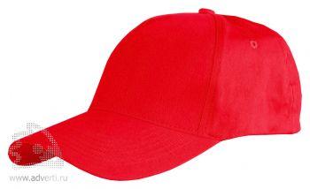 Бейсболка Leela «Light», красная