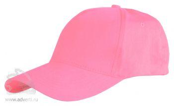Бейсболка Leela «Light», светло-розовая