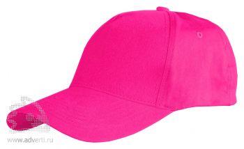 Бейсболка Leela «Light», ярко-розовая