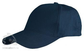 Бейсболка Leela «Light», темно-синяя