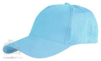 Бейсболка Leela «Light», голубая