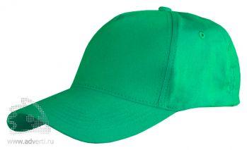 Бейсболка Leela «Light», зеленая