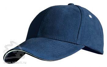 Бейсболка Leela «Sandwich Heavy», синяя