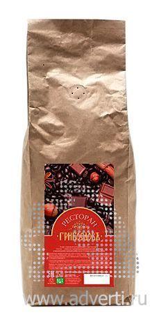 Кофе с логотипом, упаковка крафт натуральный