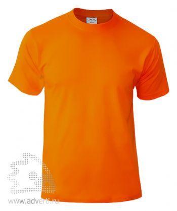 Футболка «Corona», унисекс, оранжевая