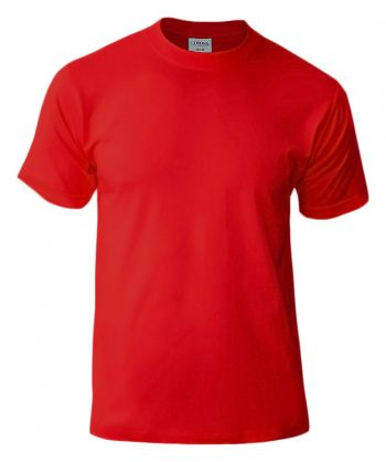 Футболка «Corona», унисекс, красная