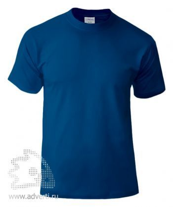 Футболка «Corona», унисекс, синяя