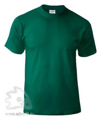 Футболка «Corona», унисекс, темно-зеленая