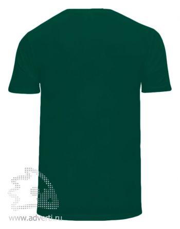 Футболка «Corona», унисекс, темно-зеленая оборот