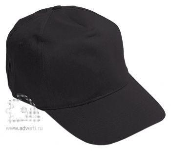 Бейсболка «Eurotex», черная