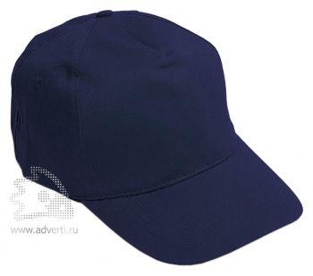 Бейсболка «Eurotex», темно-синяя