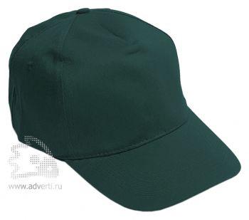 Бейсболка «Eurotex», темно-зеленая