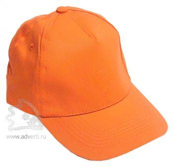 Бейсболка «Eurotex», оранжевая