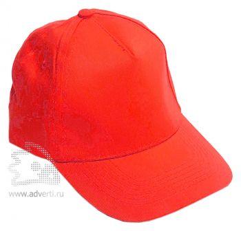 Бейсболка «Eurotex», красная