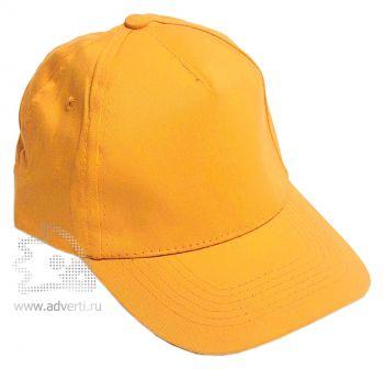 Бейсболка «Eurotex», желтая