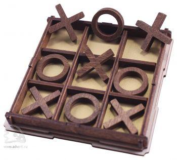 Настольная игра «Крестики-нолики», в открытом виде