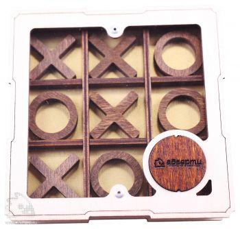Настольная игра «Крестики-нолики», вид спереди
