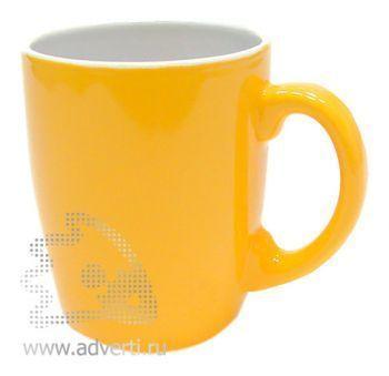 Кружка PR-036, желтая