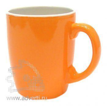 Кружка PR-036, оранжевая
