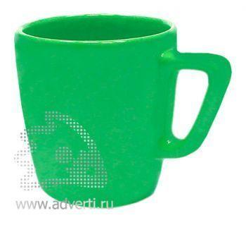 Кружка квадратная PR-038, зеленая