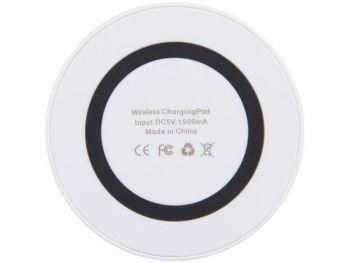Устройство для беспроводной зарядки, чёрное, вид снизу