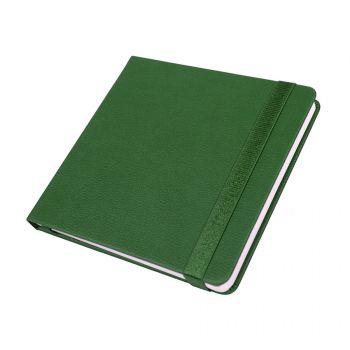 Ежедневник недатированный «Quadro», A5-, зеленый