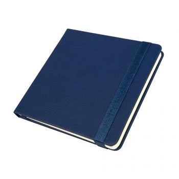 Ежедневник недатированный «Quadro», A5-, темно-синий