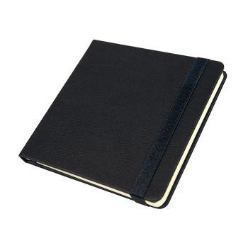 Ежедневник недатированный «Quadro», A5-, черный
